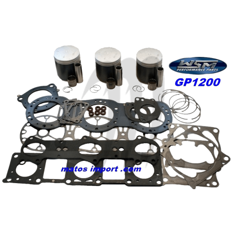 Kit pistons platinum Yamaha GP 1200 / XL 1200 (Cote +1mm)