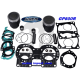 Kit pistons platinum Yamaha GP / GP R / XL 800 / XLT 800 (Cote +0.50m)