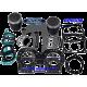WSM. USA . Kit Plunger Platinum, Yamaha ,800cc 66E ( cote +0.50mm )