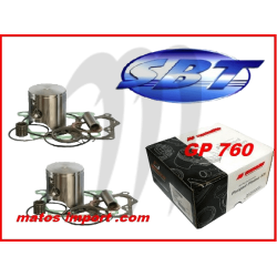 Kit pistons platinum Yamaha XL 760 / GP 760 / WAVE RAIDER / WAVE RUNNER (Cote +0.75mm)
