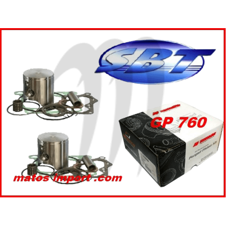 SBT -PROX . Kit Plunger Premium, Yamaha, 760cc 64X ( cote +0.50mm )