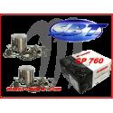 Kit pistons platinum Yamaha XL 760 / GP 760 / WAVE RAIDER / WAVE RUNNER (Cote +0.75mm)