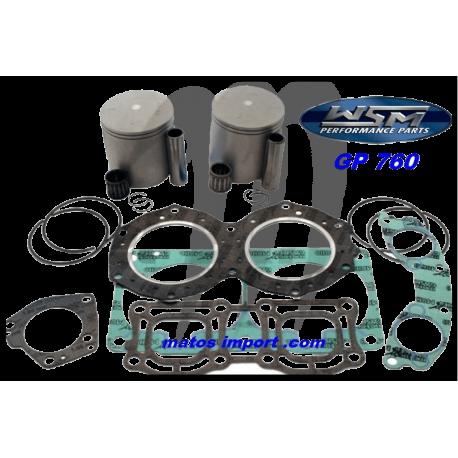 WSM. USA . Kit Plunger Platinum Yamaha 760cc 64X ( cote +1mm )