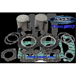WSM-USA. Kit Pistons Platinum Yamaha 701cc 62T (Standard 81mm)