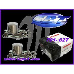 Kit pistons Platinum Yamaha 701 62T (Standard 81mm)