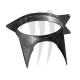 Pump Shoe Aluminium, Super-Jet & Blaster 1( Origine 144mm )