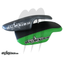 Chin Pad Carbon  (black / green )
