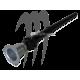 Complete Kit Drain Valve Aluminum, SUPER-JET