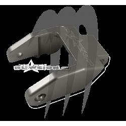 Hood Latch- Billet , Super-Jet / SXR-800 ( clear/alu )