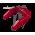 Hood Latch- Billet  red