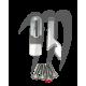 Kit Keepers Female hood, Aluminium ( 2 pièces). Super-Jet ( 1990-2012 )