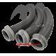 Hood Baffle Air Intake - Kit   Free-Style (3 pièces )