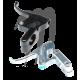Billet Throttle Lever  (silver)