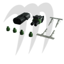 Weathertight connectors  male and femelle