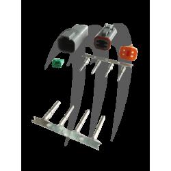 Connecteur étanche Deutsch gris 4 broches MSD