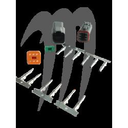 Connecteur étanche Deutsch gris 6 broches MSD