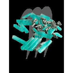 Kit connecteur électrique male et femelle (20 pieces)