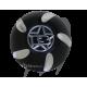 Gas cap Kawasaki  (black )