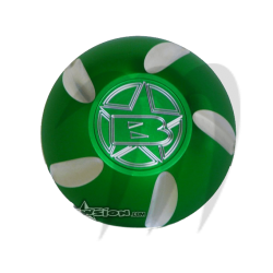 Bouchon essence Kawasaki (vert)