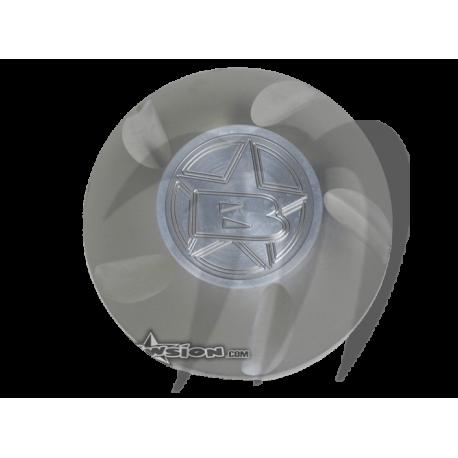 Gas cap Kawasaki (silver )