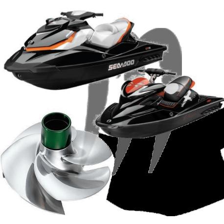 Hélice SRZ-CD-15/20R RXT 260 Wake Pro 215/ GTX 260/ RXT 215 Solas/ Riva Racing