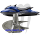 Impeller Dynafly , FX-160 / GP1300R  , replacement origin