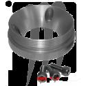 Adapteur de filtre Mikuni 38mm 3 trous