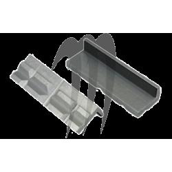 LISLE . Machoires Aluminium ( pour protéger les pieces prises dans l'etau)