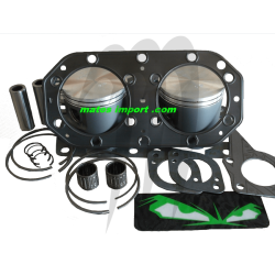 Kit pistons premium Kawasaki SS /SX /XI /ZXI /XIR /STX /750 SXI /XI Sport /SXI Pro AXE 22MM (Cote +0.50mm)