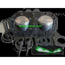 SBT-PROX. Kit Pistons Premium Kawasaki 750cc AXE 20MM (Cote +0.50mm)