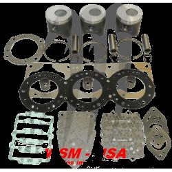 Kit pistons platinum Kawasaki  ULTRA 130 DI / STX DI (Cote +1mm)