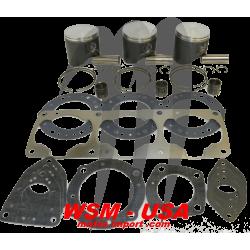 WSM-USA. Kit Pistons Platinum Kawasaki 1100cc (Standard 80mm)