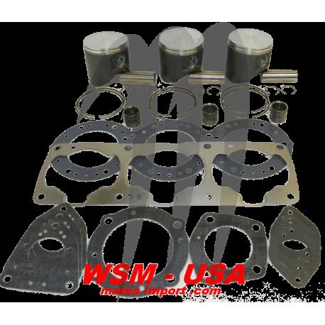 WSM-USA. Kit Pistons Platinum Kawasaki 1100cc (Cote +0.50mm)