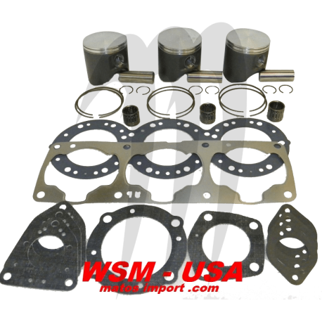 WSM-USA. Kit Pistons Platinum Kawasaki 1100cc (Cote +0.75mm)