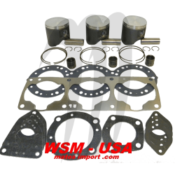 WSM-USA. Kit Pistons Platinum Kawasaki 1100cc (Cote +1mm)