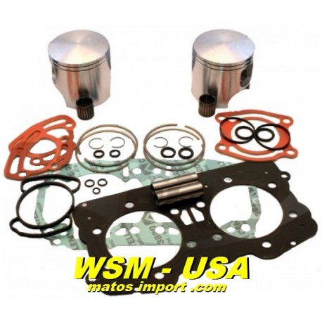 WSM-USA. Kit Pistons Platinum Sea-Doo 951 DI (Standard 87.91mm)