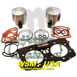 Kit pistons platinum Seadoo GTX / GSX / XP /RX(Cote +0.50mm)