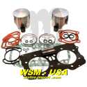 WSM-USA. Kit Pistons Platinum Sea-Doo 951 (Cote +0.50mm)