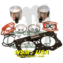 WSM.USA . Pistons Kit Platinum, Sea-Doo 951 DI ( + 0.50mm )