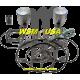 WSM-USA. Kit Pistons Platinum Sea-Doo 800 (Standard 82mm)