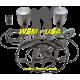 WSM-USA. Kit Pistons Platinum Sea-Doo 800 (Cote +1mm)