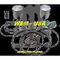 Kit pistons platinum Seadoo 3D RFI / GSX RFI / GTI RFI / GTX RFI (Cote +0.50mm)