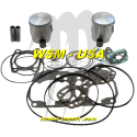 WSM-USA. Kit Pistons Platinum Sea-Doo 800 RFI (Cote +0.50mm)