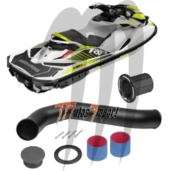 RIVA RACING. Kit Echappement Seadoo RXP 300