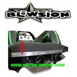 Fixation de tapis (alu) Kawasaki X2-800/ SXR-800 Blowsion