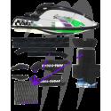 Mat Kit Precut Freestyle, SX / SXI / 750SXI-Pro, cut diamond (black)
