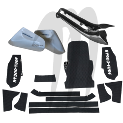 HYDRO-TURF. Kit Tapis + Cales Kickers + Rail Caps 800 -SXR
