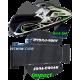 HYDRO-TURF.  Kit Tapis Prédécoupé , Kick Tail 1 , SXR-800 ,cut diamond (noir).