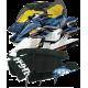 Mat Kit Precut, BRP, GTi-130 (2006-2010) / GTi-155 (2006-2010 ), cut diamond (black)