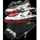 Mat kit precut, BRP, GTi-130hp . GTS-130hp  coque LFi, cut diamond (black).